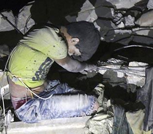 Aleppo province airstrikes kill 36 people