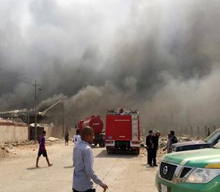 Attacks in Iraqi capital kill at least 16 civilians