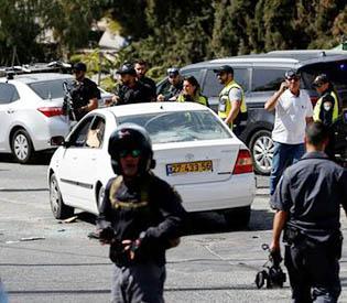 Palestinian kills two people in Jerusalem, then shot dead- police
