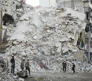"Russia halts Aleppo strikes in ""goodwill gesture"""