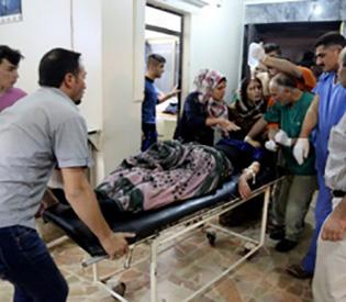 Suicide attack on Syria wedding kills 22