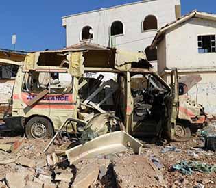 Air strike hits third Syrian hospital