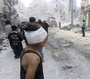 Airstrikes Syria