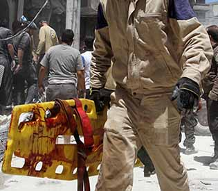 Airstrikes,civilian killed