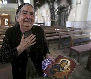 Islamic State-destroyed parish