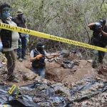32 bodies, 9 human heads found in Mexico mass graves