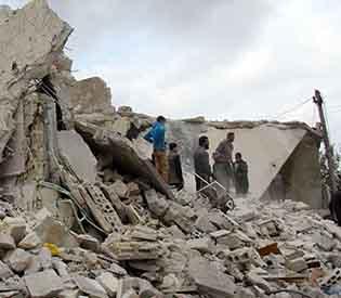 Russian air strikes kill jihadists in Syria