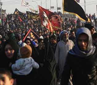 Shiite pilgrims