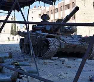 Syria forces retake  Aleppo