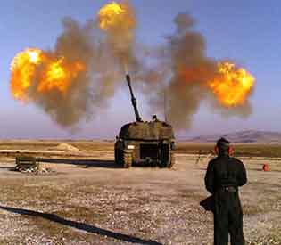 Islamic State targets in Syria