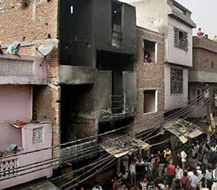 garment factory fire India