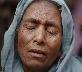 Rohingya fled Myanmar