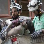 Aleppo White Helmet rescuers call for safe passage