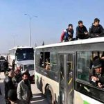 Thousands leave Aleppo as UN plans new peace talks