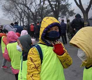 china's smoggiest city