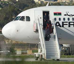 libyan plane
