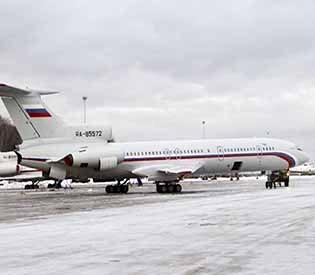 russian plane crashed
