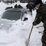 Extreme cold and heavy snow kills 40 in Ukraine, Russia