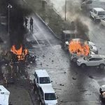 2 killed in car bombing in Turkish city, 2 attackers dead