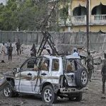 Car bomb kills 6 near Somalia presidential palace