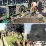 Suicide car bomb on Syrian bus convoy kills 43 evacuees fleeing to Aleppo