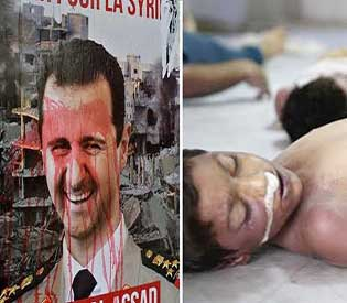 syria butcher assad