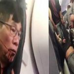 United airlines passenger violently dragged off the plane was bleeding heavily
