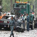 Suicide attack on NATO convoy in Kabul kills eight civilians