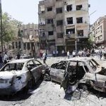 Three deadly car bomb blasts target Damascus, 20 killed