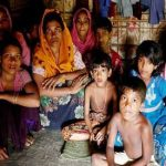 Myanmar violence leaves 98 dead as Rohingya Muslims flee into Bangladesh