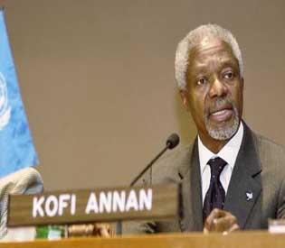 myanmar tensions- former UN chief