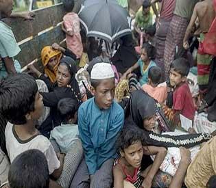 rohingya fleeing myanmar