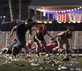 gunman attack in live concert