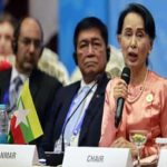 Suu Kyi blames world conflicts partly on illegal immigration