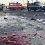 Suicide attack in Baghdad kills at least 38, wounds 105