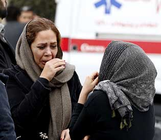 All 65 passengers, crew feared dead in Iranian plane crash