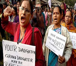 Activists call protests over raped girl and teenager in India