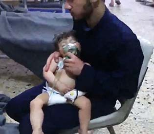 yria will see US price for chemical attack as worth paying