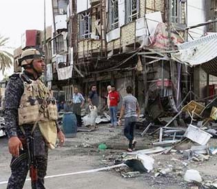 Five people killed, 16 injured in Baghdad cafe bombing