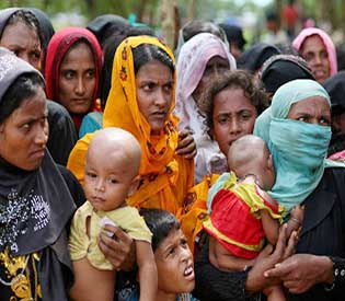Nine months after Myanmar assaults, Rohingya camps ready for spate of births
