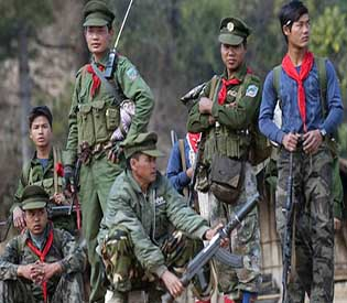 Rebels in Shan state-Myanmar