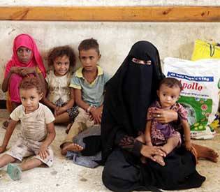 Nearly 5,000 families displaced in Yemen's Hodeida