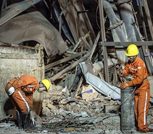 miners rescued in northeastern China after blast kills 11