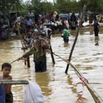 Deadly monsoon rains threaten Rohingya refugees in makeshift camps