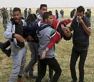 Palestinian dies after being shot in Gaza clashes