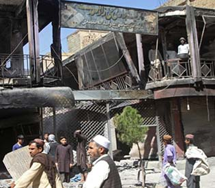 Suicide bomber targets Shiite students in Kabul