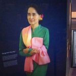 Myanmar leader's image removed from Canadian Museum for Human Rights