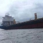 Ghost ship with no one on board runs aground on Myanmar coast