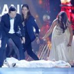 Paraguay contestant wins, then swoons at beauty pageant